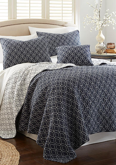 Elise & James Home™ Moroccan Tiles Reversible Quilt Collection