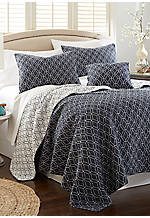 Moroccan Tiles King Quilt 106-in. x 92-in.