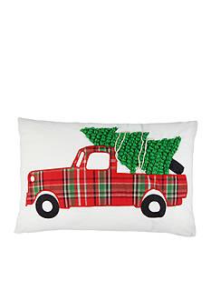 Elise & James Home™ Tree Truck Decorative Pillow