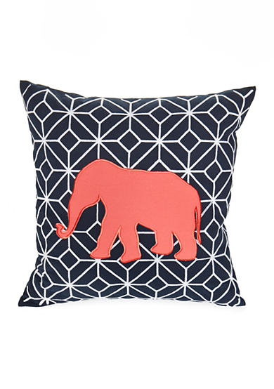 Elise & James Home™ Elephant Geo Decorative Pillow