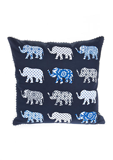 Elise & James Home™ Global Elephant Decorative Pillow