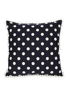 Elise & James Home™ Polka Dot Pom Poms Decorative Pillow