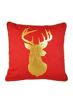 Elise & James Home™ Metallic Reindeer Decorative Pillow