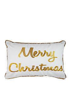 Elise & James Home™ Merry Christmas Decorative Pillow