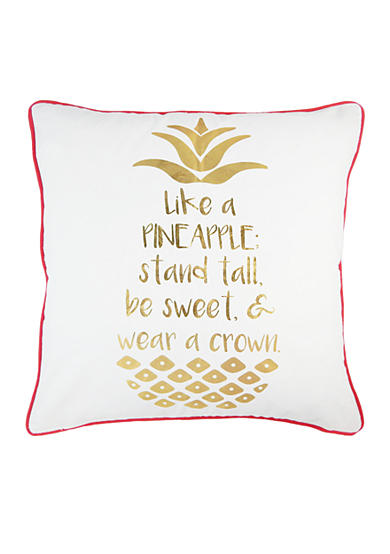 Elise & James Home™ Pineapple Decorative Pillow