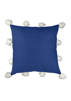 Elise & James Home™ Fluffy Wool Tassel Decorative Pillow