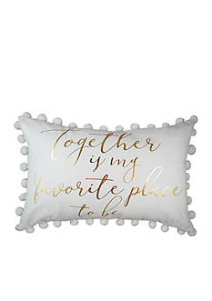 Elise & James Home™ Together Is My Favorite Place Decorative Pillow