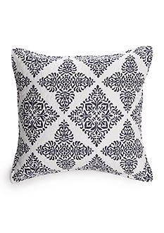 Elise & James Home™ PRESTON NAVY SQUARE PILLOW 18X18