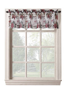 No. 918 Wine Country Rod Pocket Window Swag Pair