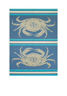 Panama Jack Stone Crab Rug