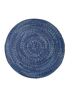 Benson Mills Boucle Braided Round Placemat