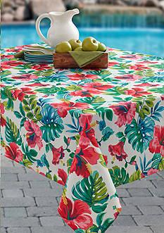 Benson Mills Cleo Indoor/Outdoor Spillproof Tablecloth 60-in. x 84-in.