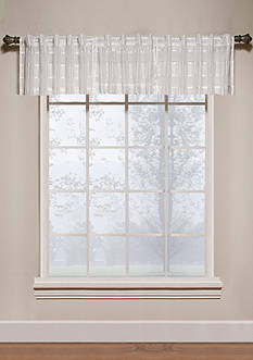 Saturday Knight Gossamer Snow Valance