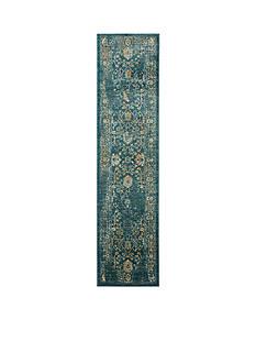 Safavieh Evoke Light Blue/Beige 2-ft. x 10-ft. Area Rug