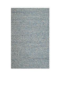 Safavieh Natural Fiber Blue/Ivory 6-ft. x 9-ft. Area Rug