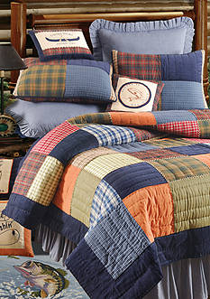 C&F Northern Plaid Quilt