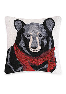 C&F Welcome Friends Bear Throw Pillow