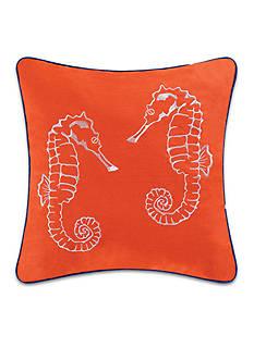 C&F Aquatic Life Seahorse Decorative Pillow