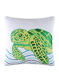 C&F Turtle Throw Pillow