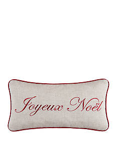 C&F Joyeux Noel Throw Pillow