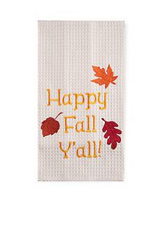 C&F Happy Fall Y'all Kitchen Towel