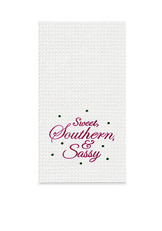 C&F Sweet, Southern, and Sassy Kitchen Towel