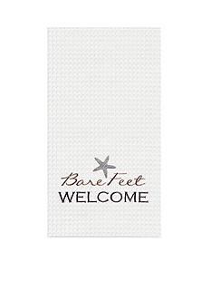 C&F Bare Feet Welcome Kitchen Towel