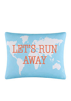 C&F Let's Run Away Throw Pillow