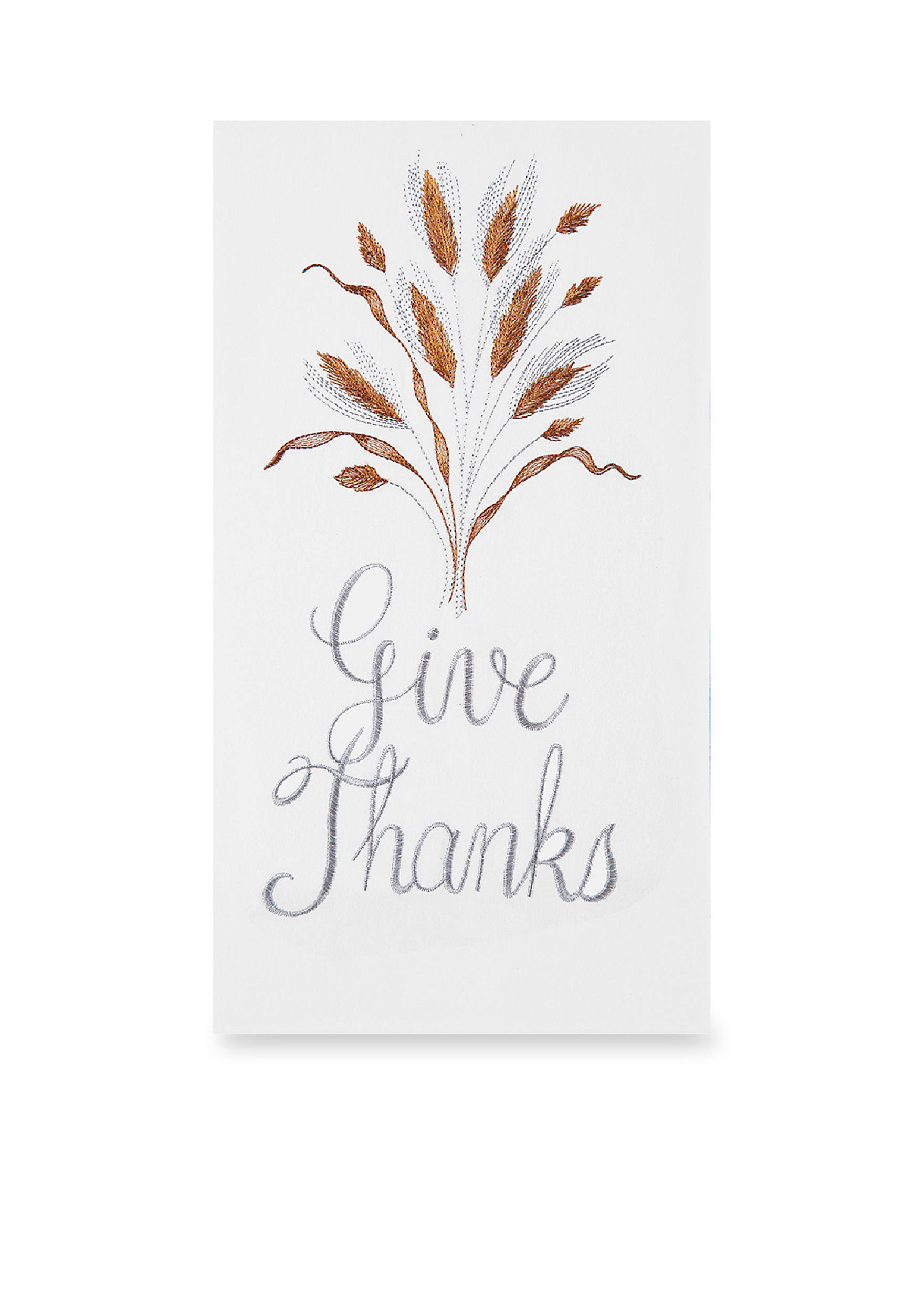 C&F Give Thanks Flour Sack Kitchen Towel | belk
