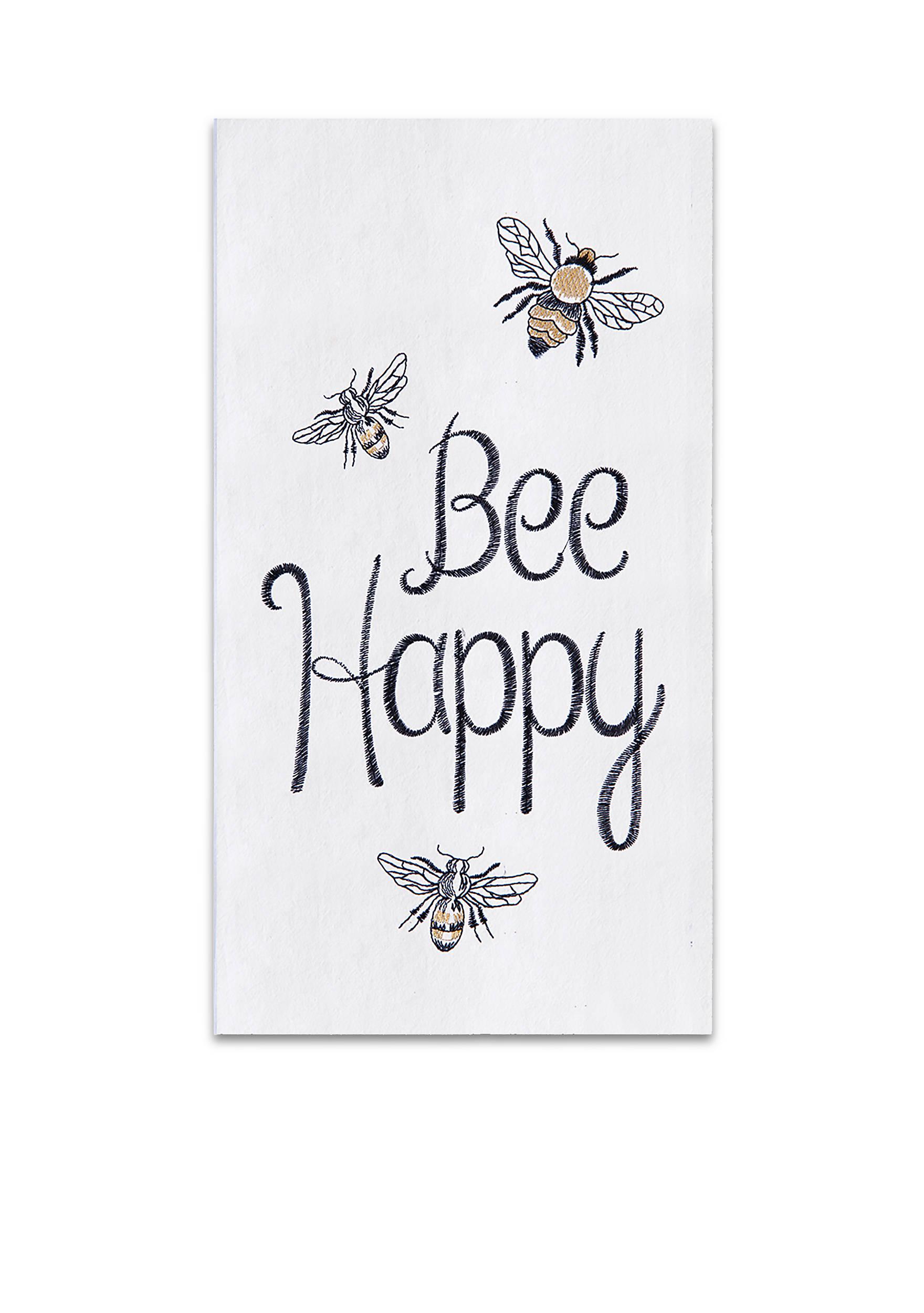 C&F Bee Happy Kitchen Towel | belk