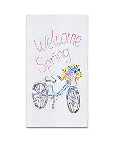 C&F Welcome Spring Kitchen Towel