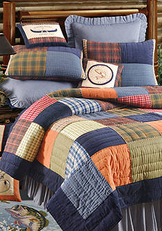 C&F Northern Plaid Twin Quilt