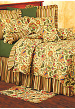 Vivienne Multi Twin Bedskirt 39-in. x 76-in. + 18-in. drop