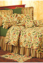Vivienne Multi King Bedskirt 78-in. x 80-in. + 18-in. drop