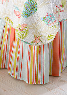 C&F Clearwater Twin Bedskirt 14-in. Drop