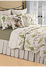 Botanical Medley Multicolored King Quilt 102-in. x 92-in.