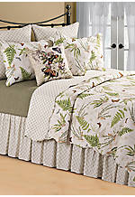 Botanical Medley Multicolored Full/Queen Quilt 90-in. x 92-in.