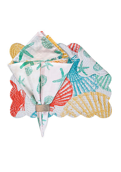 C&F Captiva Island Placemat and Napkin