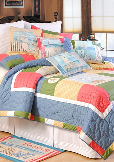 C&F Coastal Treasure Quilt Collection - Online Only