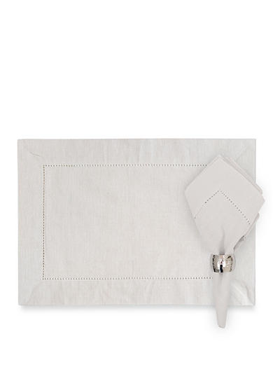 C&F Hemstitch Placemat and Napkin