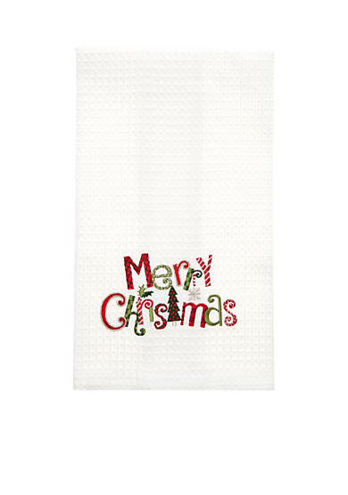 C&F Merry Christmas Kitchen Towel