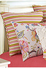 Kenzie Multicolored Striped Euro Sham 26-in. x 26-in.