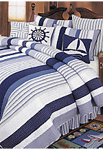 Nantucket Dreams Queen Bedskirt 14-in. drop