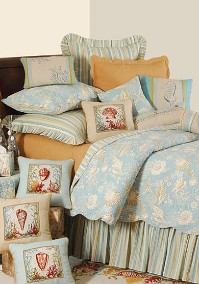 C&F Natural Shells Quilt Collection - Online Only