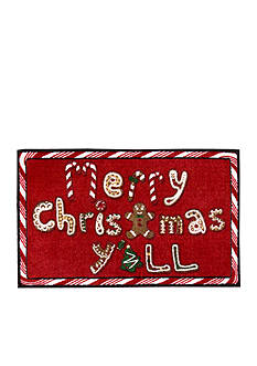 Nourison Merry Christmas Y'All Accent Rug