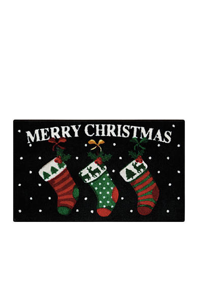 Nourison Christmas Stocking Accent Rug