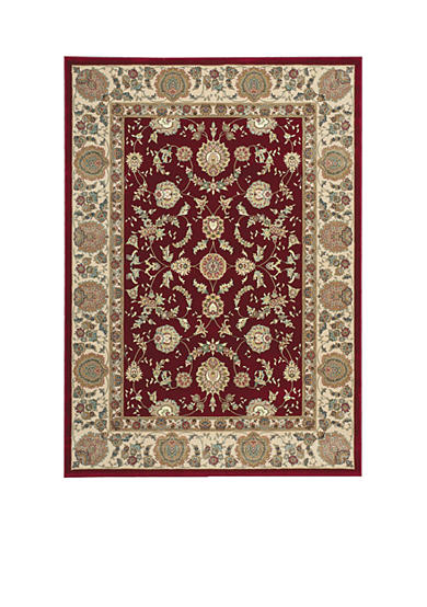 Nourison Antiquities Garnet Area Rug