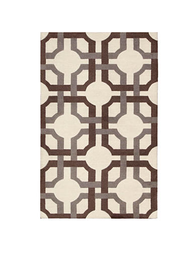 Waverly® Artisanal Delight Groovy Grille Tobacco Area Rugs