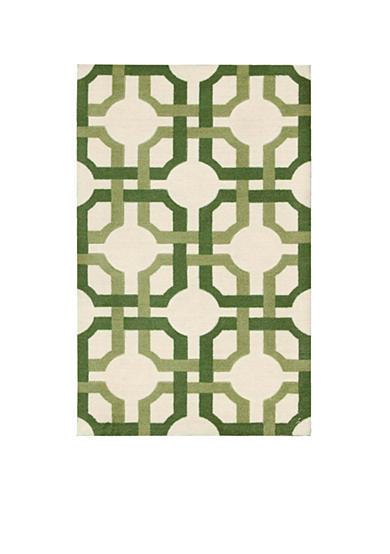 Waverly® Artisanal Delight Groovy Grille Leaf Area Rugs