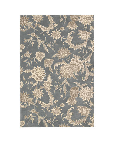 Nourison Gatsby Slate Area Rug - Online Only